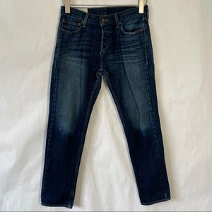 Hollister button fly jeans classic wash size 30